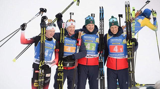Норвежские биатлонисты. Фото IBU