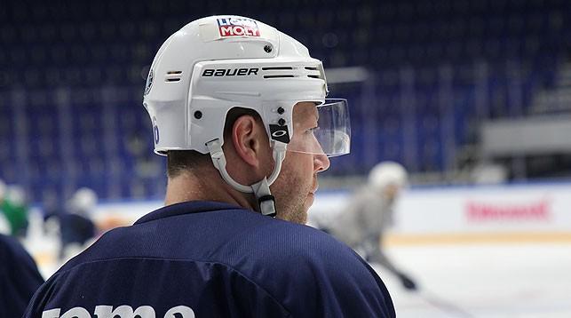 """Андрей Костицын. Фото ХК """"Динамо-Минск"""""""