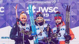 Тириль Аднес Венг, Моа Лундгрен и Аида Байзитова. Фото организаторов соревнований