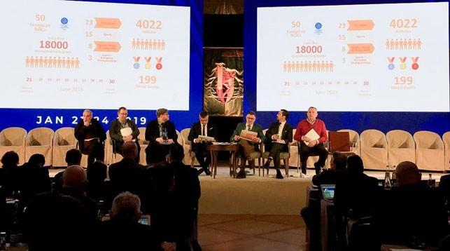 Во время конгресса. Фото официального сайта Европейских игр