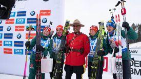 Биатлонистки сборной Германии. Фото IBU