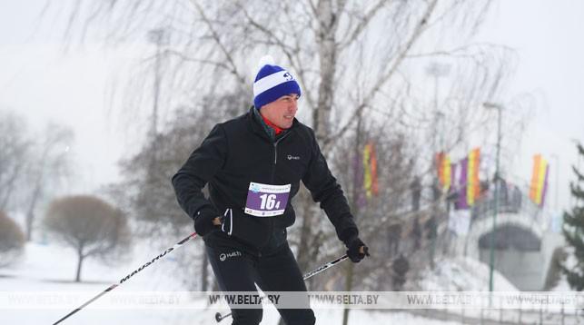 Дмитрий Басков во время соревнований