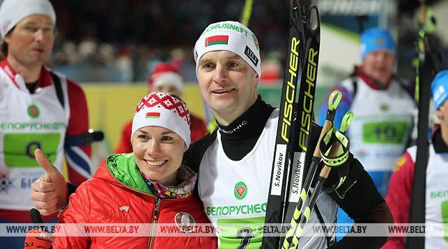Надежда Скардино и Сергей Новиков
