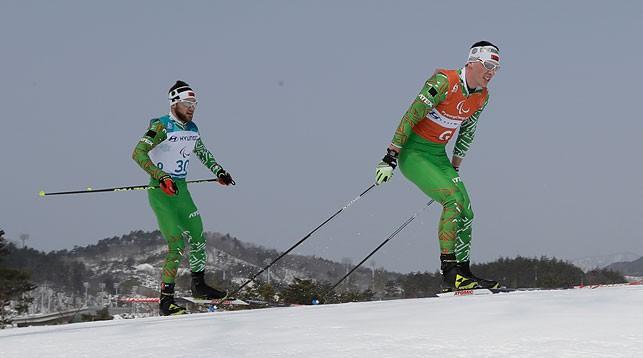 Юрий Голуб и Дмитрий Будилович. Фото из архива AP - БЕЛТА