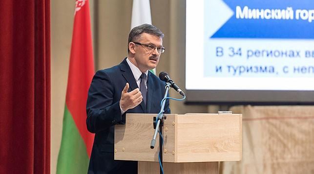 Сергей Ковальчук. Фото Министерства спорта и туризма