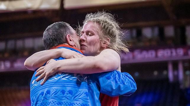 Анастасия Зименкова. Фото организаторов чемпионата Европы
