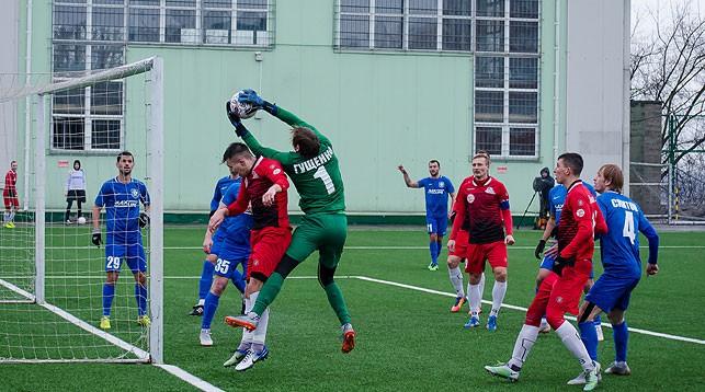 Во время матча. Фото   СпортНавины