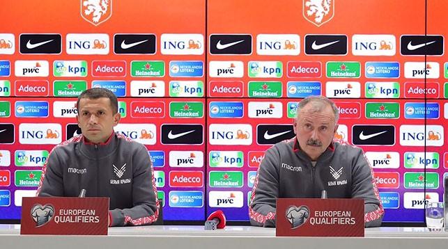 Сергей Кисляк и Игорь Криушенко. Фото АБФФ