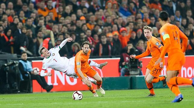 Во время матча. Фото АБФФ