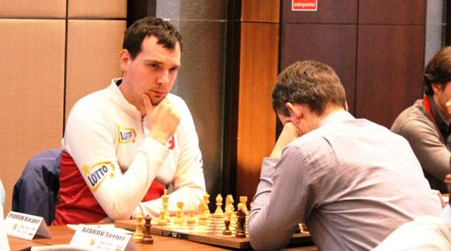 Перун Каспер и Сергей Азаров. Фото организаторов чемпионата Европы