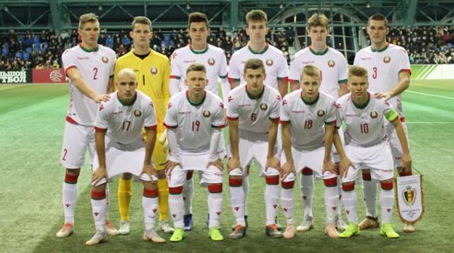 Юношеская сборная Беларуси U-17. Фото АБФФ