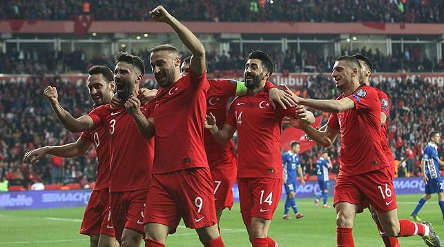 Во время матча. Фото Турецкой федерации футбола