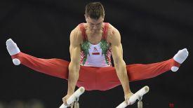 Василий Михалицын. Фото Белорусской ассоциации гимнастики