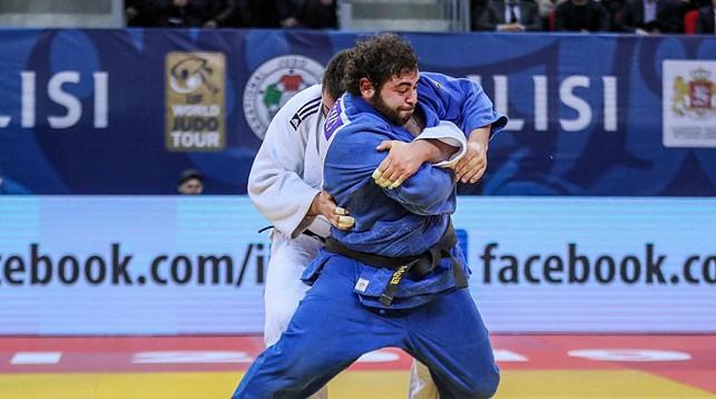 Леван Матиашвили и Александр Ваховяк. Фото Европейского союза дзюдо