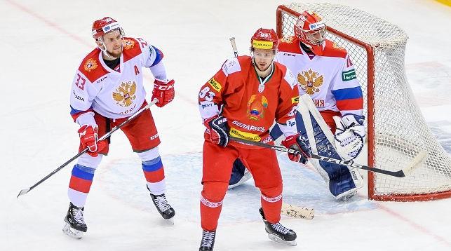 Во время матча. Фото Белорусской федерации хоккея