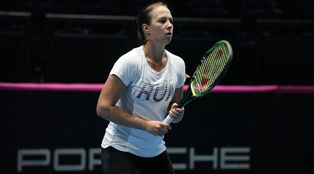 Вера Лапко. Фото из архива Белорусской теннисной федерации