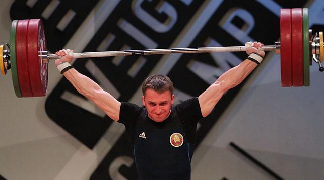 Вадим Лихорад. Фото Федерации тяжелой атлетики Грузии