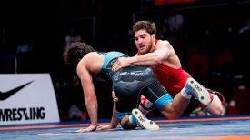 Мурад Сулейманов и Али Шабанов. Фото United World Wrestling