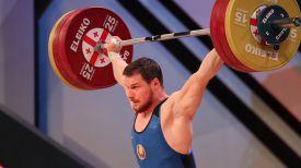 Петр Асаенок. Фото Федерации тяжелой атлетики Грузии
