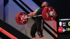 Андрей Арямнов. Фото Федерации тяжелой атлетики Грузии