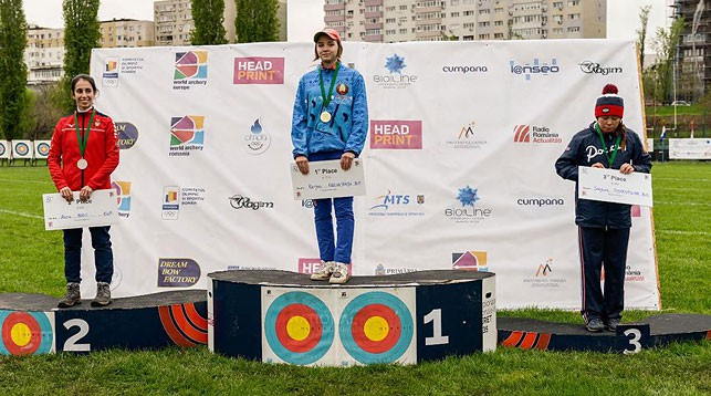 Карина Козловская (в центре). Фото из личного архива участников соревнований