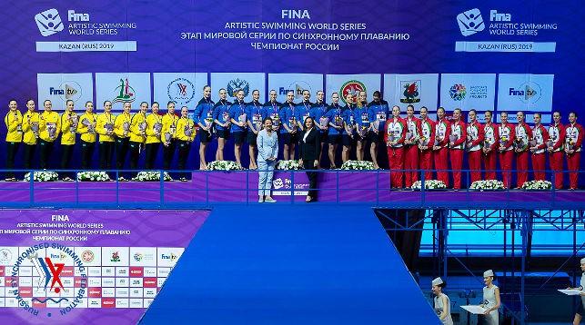 Фото Федерации синхронного плавания России