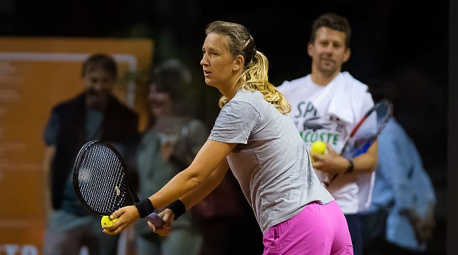 Виктория Азаренко на тренировке в Штутгарте. Фото Jimmie48 Tennis Photography