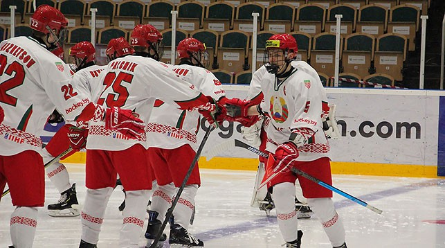 Сборная Беларуси. Фото ФХБ