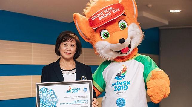 Нелли Ким. Фото официального сайта Европейских игр
