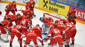 Сборная Беларуси по хоккею. Фото IIHF