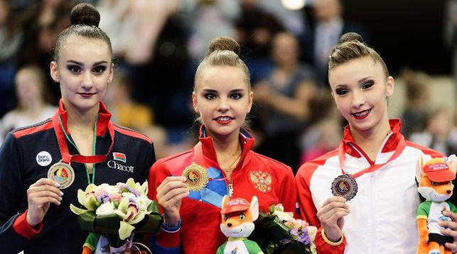 Алина Горносько (слева). Фото Белорусской ассоциации гимнастики