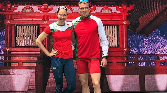 Марина Арзамасова и Александр Василевский. Фото БФЛА