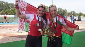 Кристина Староселец и Татьяна Климович. Белорусская федерация гребли