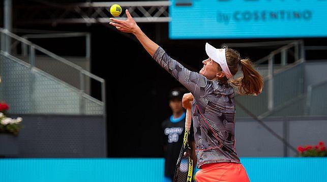 Александра Саснович. Фото из архива Jimmie48 Tennis Photography