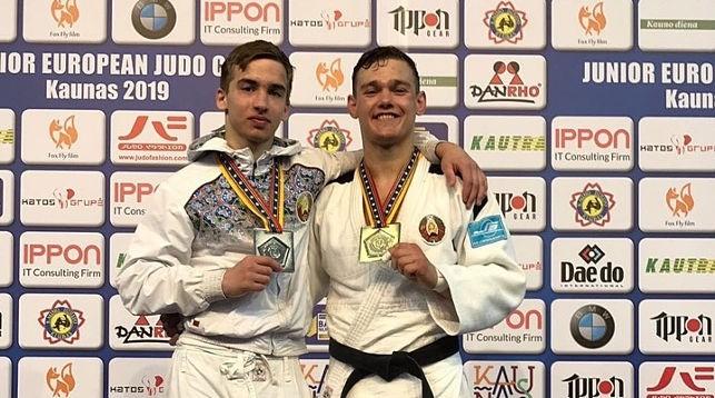 Руслан Головачов и Егор Трухан. Фото judobelarus.com