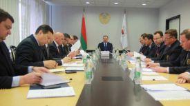 Во время заседания. Фото НОК Беларуси