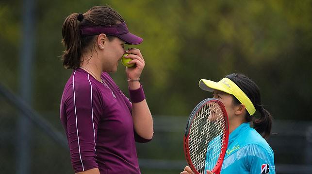 Лидия Морозова и Сюко Аояма. Фото из архива Jimmie48 tennis photography