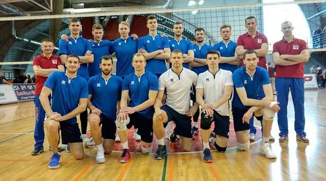 Сборная Беларуси. Фото Белорусской федерации волейбола