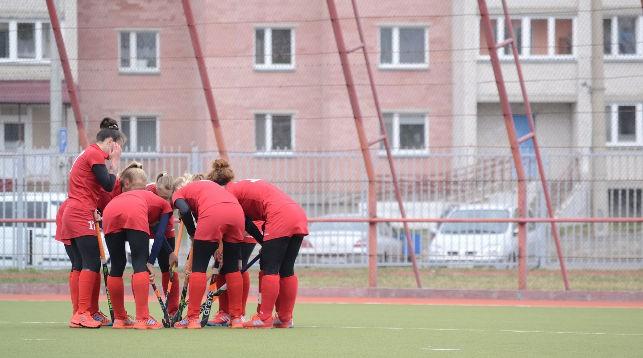 """Хоккеистки """"Минска"""". Фото Белорусской федерации хоккея на траве"""