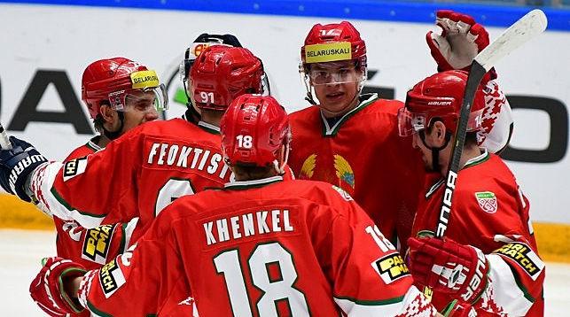 Сборная Беларуси. Фото IIHF