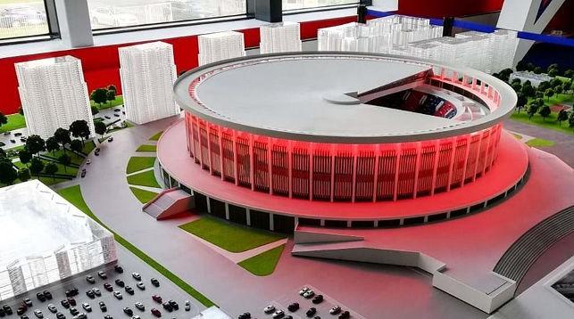 В Санкт-Петербурге к ЧМ-2023 по хоккею построят самую большую в мире арену. Фото IIHF