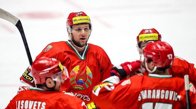 Хоккеисты сборной Беларуси. Фото   Sportida Photo Agency