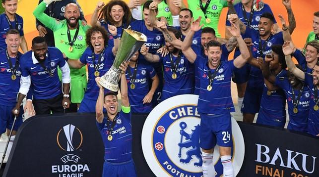 """""""Челси"""" выиграл Лигу Европы. Фото УЕФА"""