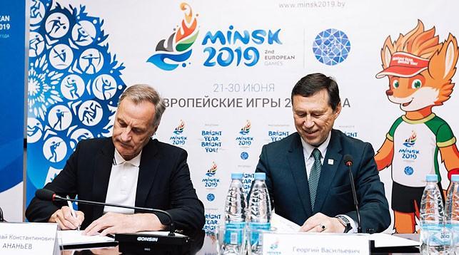 Николай Ананьев и Георгий Катулин. Фото официального сайта Европейских игр