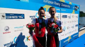 Анастасия Янина и Елена Фурман. Фото Международной федерации гребли