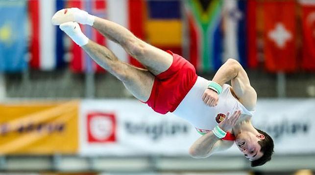 Егор Шарамков. Фото Белорусской ассоциации гимнастики