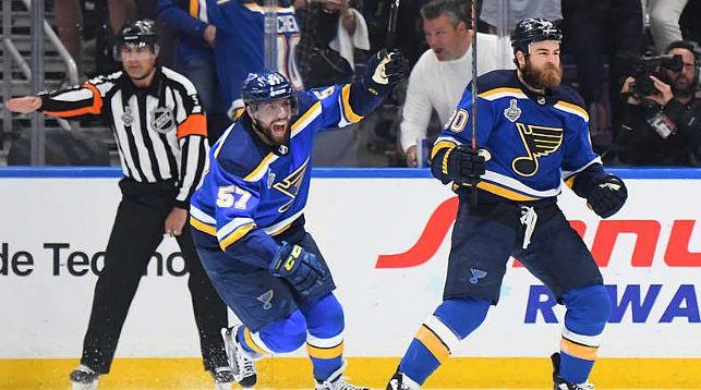 """Хоккеисты """"Сент-Луиса"""" сравняли счет в серии. Фото """"Сент-Луиса"""""""
