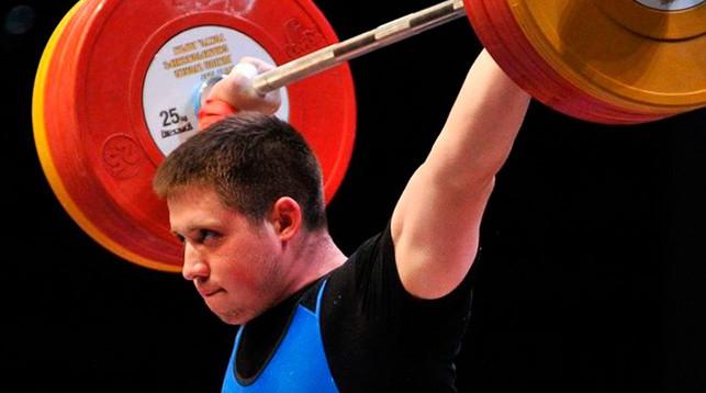 Андрей Орленок. Фото Weightlifting Belarus