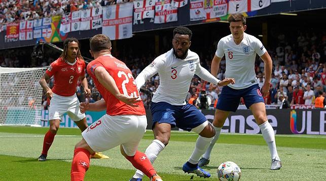 Во время матча. Фото УЕФА