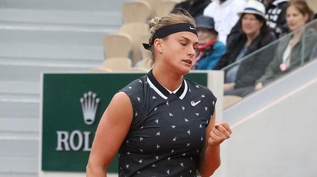 Арина Соболенко. Фото Белорусской теннисной федерации